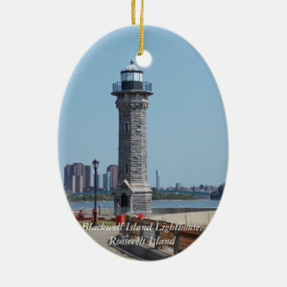 Blackwell Is. Light, Roosevelt Is. NYC Ornament 1