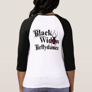 BlackWidow Bellydance Baseball tee