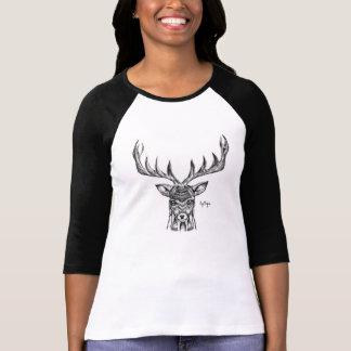 Blackwork Stag Shirt