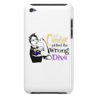 Bladder Cancer Picked The Wrong Diva iPod Touch Case-Mate Case