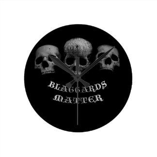 Blaggards Matter Clocks