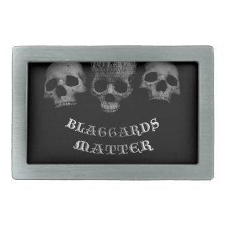 Blaggards Matter Rectangular Belt Buckles