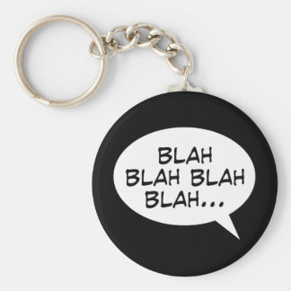 Blah blah blah blah... key ring