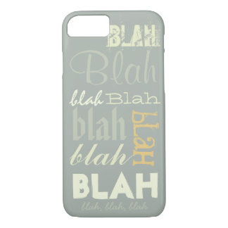 Blah Blah Blah iPhone 8/7 Case