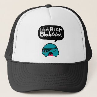 Blah Blah Trucker Hat