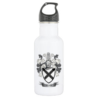 Blair Family Crest Coat of Arms 532 Ml Water Bottle