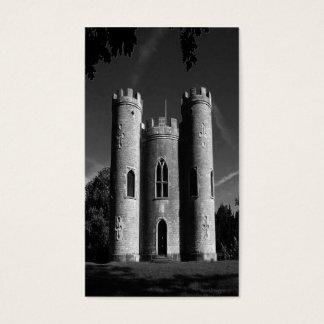 Blaise castle's Castle bw uk Business Card
