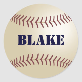 Blake Baseball Sticker / Seal