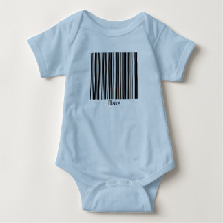 Blake Personalized Functional Barcode Tee