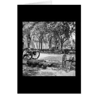 Blakely Guns and Ammunition in Charleston 1865 Card