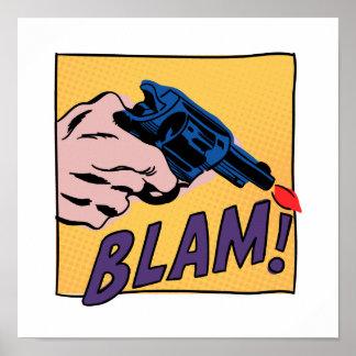 Blam Comic Book Print