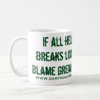 Blame Gremlins Coffee Mug