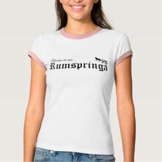 blame it on rumspringa T-Shirt