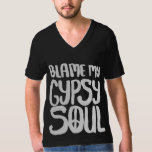 Blame My Gypsy Soul Peace Sign T-Shirt