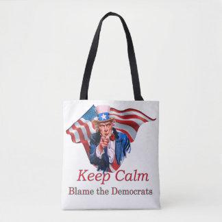 Blame the Democrats Tote Bag