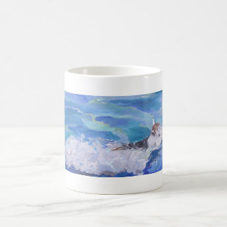 Blanca Swimming Coffee Mug