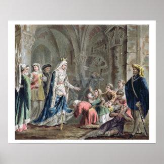 Blanche de Castille 1185-1252 Breaks up the Pris Posters