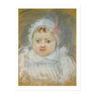 Blanche Pontillon as a Baby, 1872 (pastel on paper Postcard