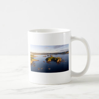 Bland Bay idyllic coast New Zealand Coffee Mug