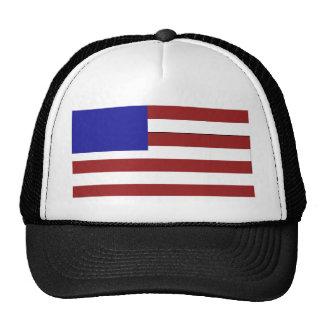 Blank American Flag Cap