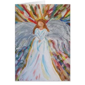 Blank Angel Card