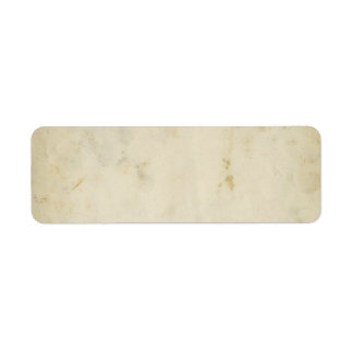 Blank Antique Aged Paper Return Address Label