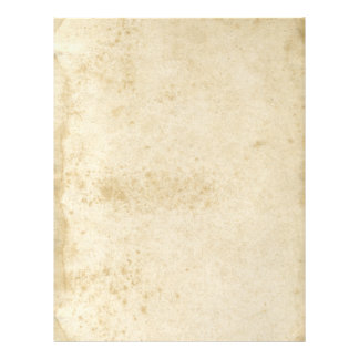 Blank Antique Stained 1870's Old Paper Flyer