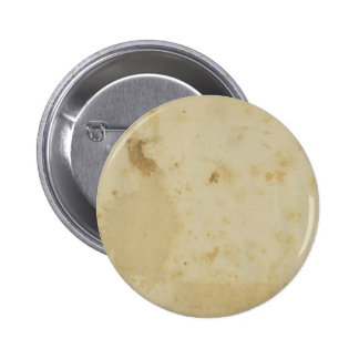 Blank Antique Stained 1870's Paper Round Button