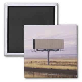 Blank Billboard Square Magnet