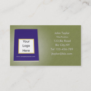 Blank green business cards zazzle au blank book business card template fbccfo Choice Image