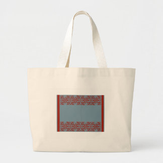 Blank Border Tote Bag