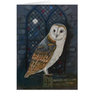 Blank card: By The Light Of The Silvery Moon. Card