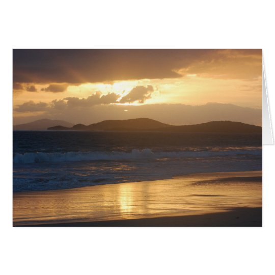 Blank Card -Zoni Beach Sunrise
