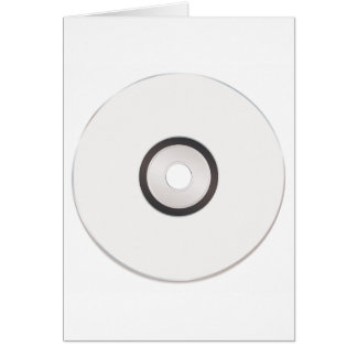 Blank CD Greeting Cards