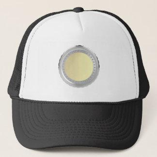 Blank coin trucker hat