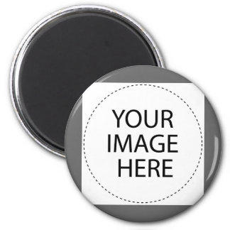 ♥ Blank - Create Your Own Gift 6 Cm Round Magnet