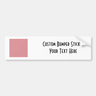 ♥ Blank - Create Your Own Gift Bumper Sticker