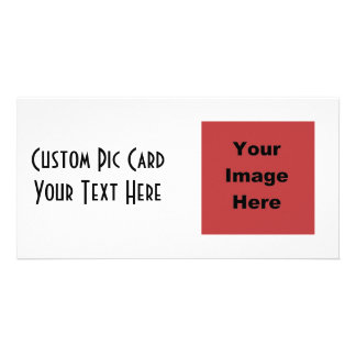 ♥ Blank - Create Your Own Gift Personalized Photo Card