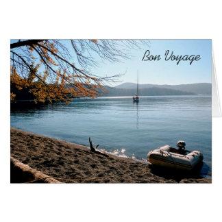 Blank Custom Bon Voyage Greeting Card
