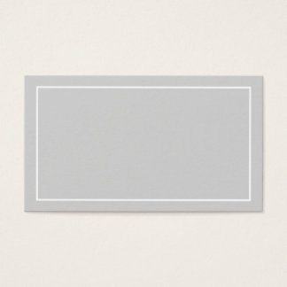 Blank Custom Color Wedding Advice and Wishes Business Card