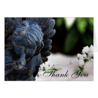 Blank Custom Thank You Angel Card