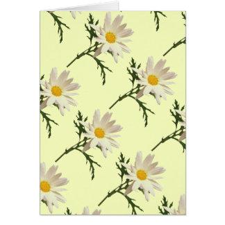 Blank Daisy Card