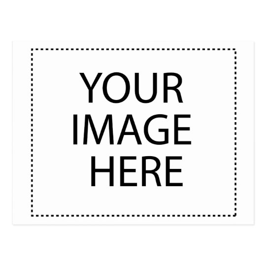 Blank Design Custom Text or Image Postcard