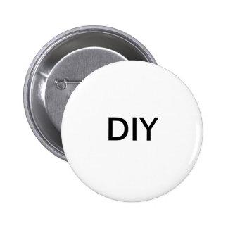 Blank-DIY-Do It Yourself 6 Cm Round Badge