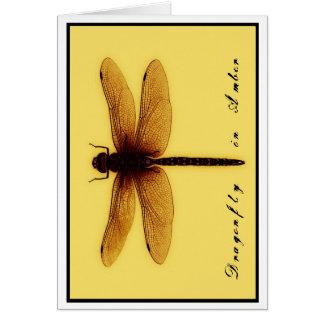 Blank Dragonfly Card