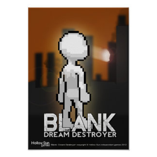 'Blank: Dream Destroyer' Official poster