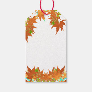 Blank Fall Holiday Gold Japanese Maple Leaves