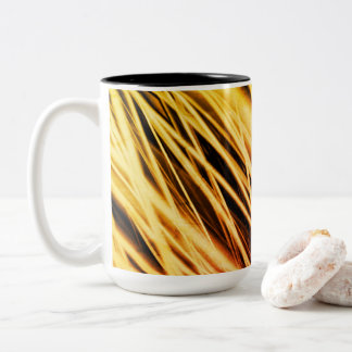 Blank Fractal Artwork Two-Tone Coffee Mug