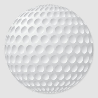 Blank Golf Stickers or Customize it