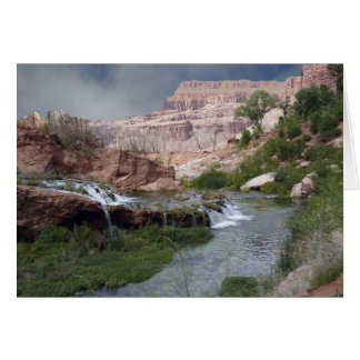 Blank Greeting Card, Unspoiled Waterfall Card